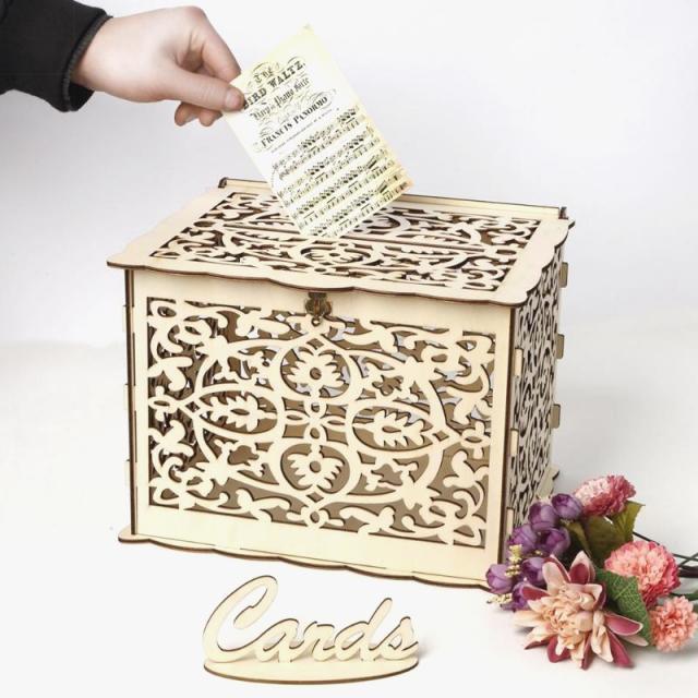 Коробки для свадебных открыток